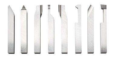 HSS beitelset 8 delig 10 x 10 mm