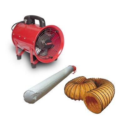 Ventilator 500 mm met accessoires