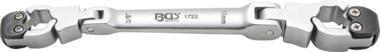 Bgs Technic 11 mm Lijn Remontluchter Buissleutel met Ratel Functie 10x11 mm