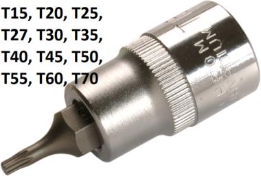 Bgs Technic Dopsleutelbit 12,5 mm (1/2) T-profiel (voor Torx) T15