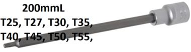 Bgs Technic 1/2 Bit dop, Torx, T25 x 200 mm