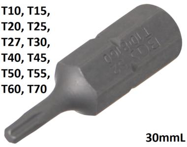 Bgs Technic Bit 8 mm (5/16) buitenzeskant T-profiel (voor Torx) T10