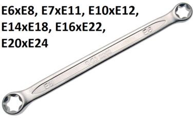 Bgs Technic Ringsleutel voor inwendig torx schroeven (extern), losse, E6xE8
