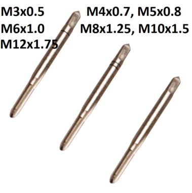 Bgs Technic Tik op Set Pre & finish Cutter M3 x 0,5 - 3 delig
