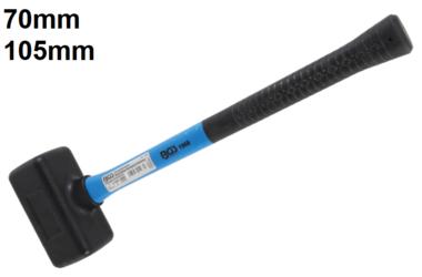 Bgs Technic Hamer terugslagvrij kop diameter 70 mm