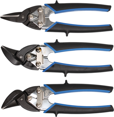 Bgs Technic Mini Body Sheet Shears, 195 mm, rechte snede