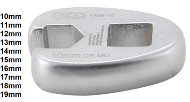 Bgs Technic 3/8 kraaienpoot  sleutel 10 mm