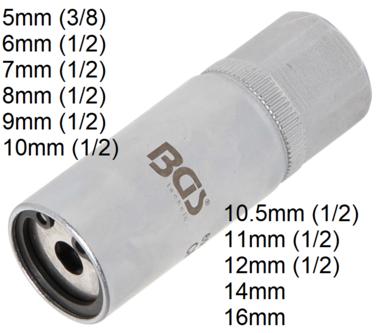 Bgs Technic Tapeind uitdraaiset tapeindverwijderaar, 5 mm