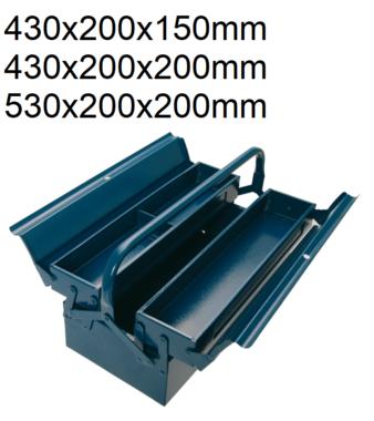 Bgs Technic Montagegereedschapskoffer 430 x 200 x 150 mm 3-delig