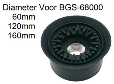 Bgs Technic Zuigkop voor BGS-68000, diameter 60 mm