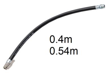 Bgs Technic Reserve-slang met adapter voor luchtinrichtingen 0,4 m