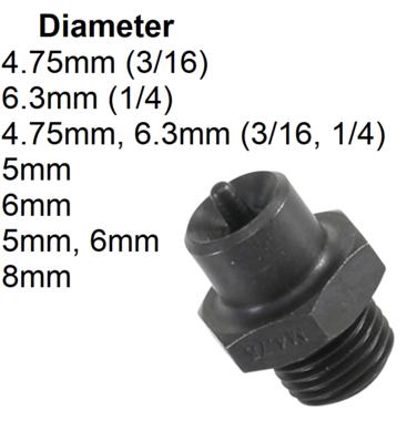 Bgs Technic Drukstang OP1 voor BGS-3057 diameter 4,75 mm (3/16)