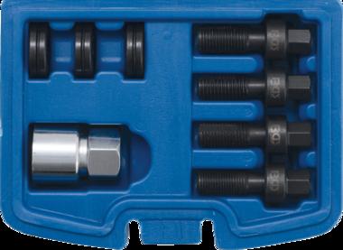Bgs Technic Schroefdraad-reparatieset voor wielbouten en wielmoeren M12 & M14 8-dlg