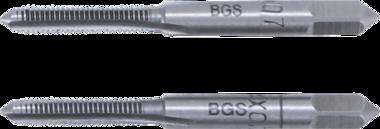 Bgs Technic Draadsnijtap voor- en nasnijder M4 x 0,7 2-dlg