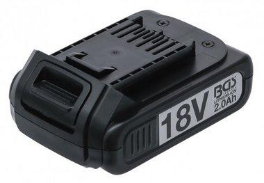 Bgs Technic Reserve accu Li-Ion 18 V / 2.0 Ah voor accu-slagmoersleutel BGS 9260