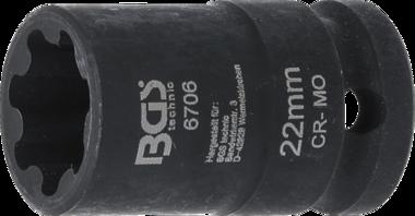 Bgs Technic Speciale dopsleutel voor Audi S5 / Q5 remzadel