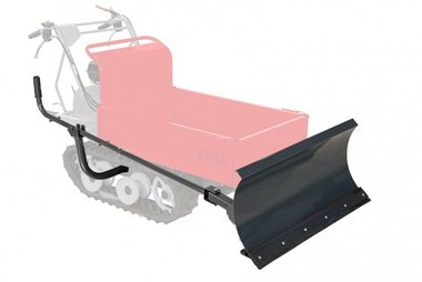 Sneeuwploeg voor minidumper MRP300/MRD300