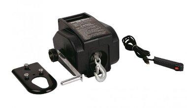 Compacte elektrische lier Bootlier 12V, 907kg 9.2m
