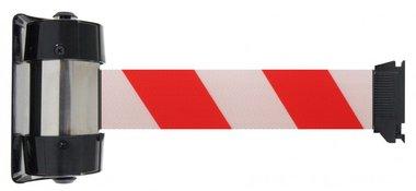 Afzetband wit/rood wandbevestiging 4 meter