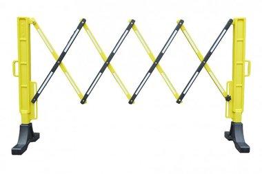 Flexibel hek geel/zwart
