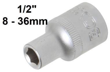 Bgs Technic 1/2 dop, pro torque, 8 mm