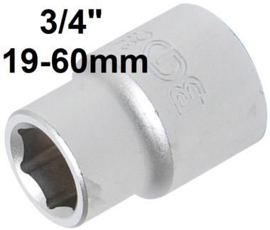 Bgs Technic 3/4 dop, pro torque, 19 mm