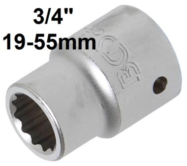 Bgs Technic 3/4 Dop 12-kant 19 mm