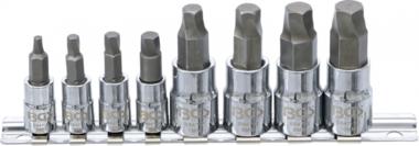 Bgs Technic Schroevenuitdraaiset aandrijving (1/4) / (3/8) vooor defecte biinnenzeskant 3 - 10mm 8-dlg