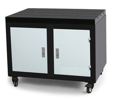 Verrijdbare werkbank gietijzeren werkblad 800x600x875mm