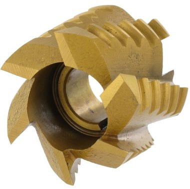 Mantelkopruwfrees HSSCO TIN 40x32x16 mm