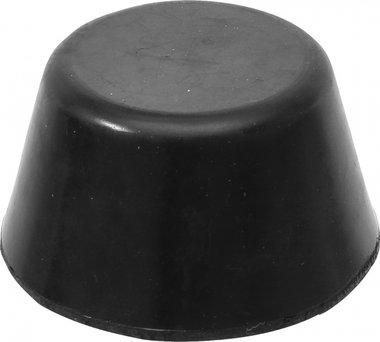 Rubberen pad voor hefplatforms diameter 105mm
