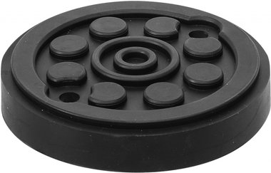 Rubberschijf voor hefplatforms diameter 120mm
