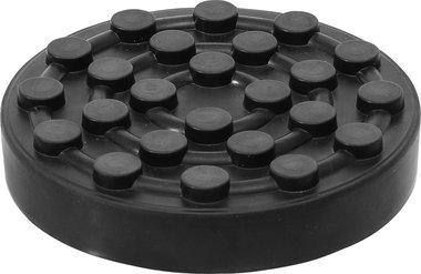 Rubberschijf voor hefplatforms diameter 123 mm