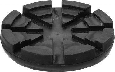 Rubberschijf voor hefplatforms diameter 125 mm