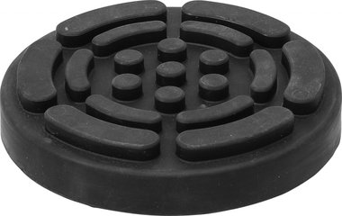 Rubberschijf voor hefplatforms diameter 140 mm