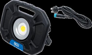 COB-LED-werkspotlamp 40W met geïntegreerde speakers