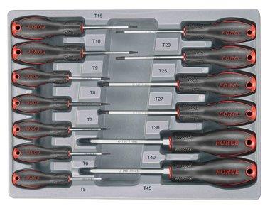 Schroevendraaierset Resistorx 13 delig