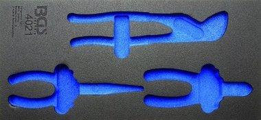 03/01 Tool Tray voor gereedschapswagen, leeg: voor 3-delige Pliers Set