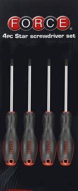Schroevendraaierset Resistorx 4 delig