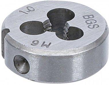 Draadsnijplaat M6 x 1,0 x 25 mm
