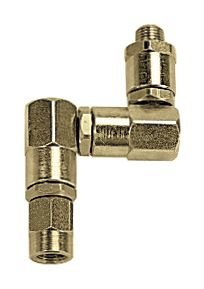 Triple swivel joint