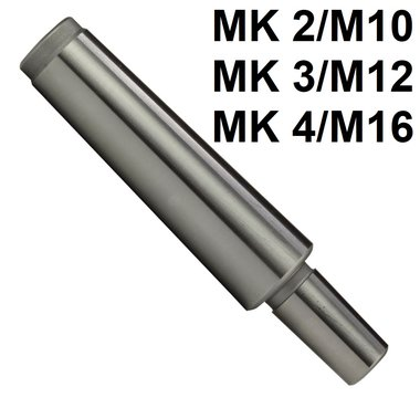 Kegeldoorn mk met draad DIN228-A