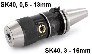 Snelspanboorhouder SK40 DIN69871
