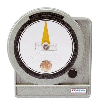 Oliegedempte hoekmeter - metaal - 0,05°
