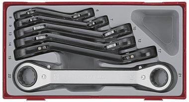 Ratel-ringsleutel tc-tray 6-dlg