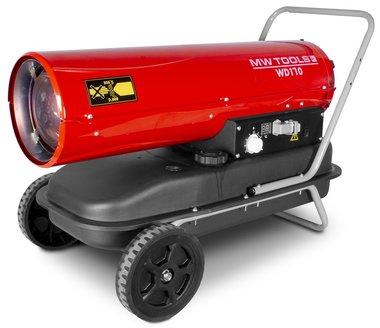 Warmeluchtblazer diesel 50kw met remote