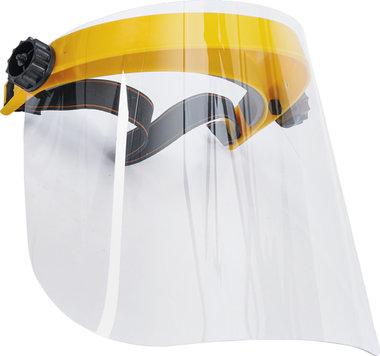 Gelaatscherm transparant