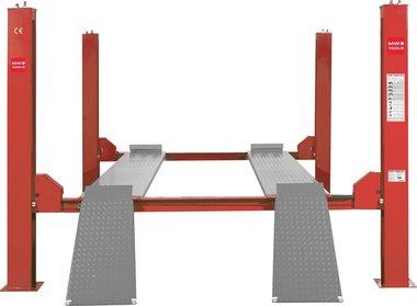 4-koloms hydraulische hefbrug 4 ton