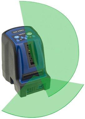 Kruislijnlaser 2 lijnen met groen laserlicht