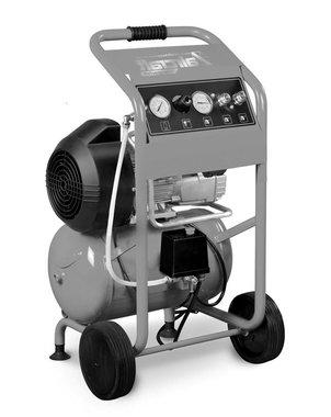 Mobiele werfcompressor hos 10 bar, 20 liter